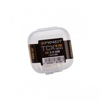 eXvape - Expromizer TCX 0,15 Ohm KA1 Drahtgeflecht 10 Stk.