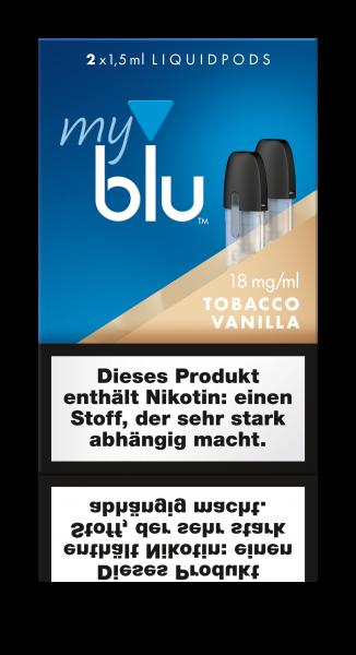Liquidpods für MyBlu - TabakVanilla