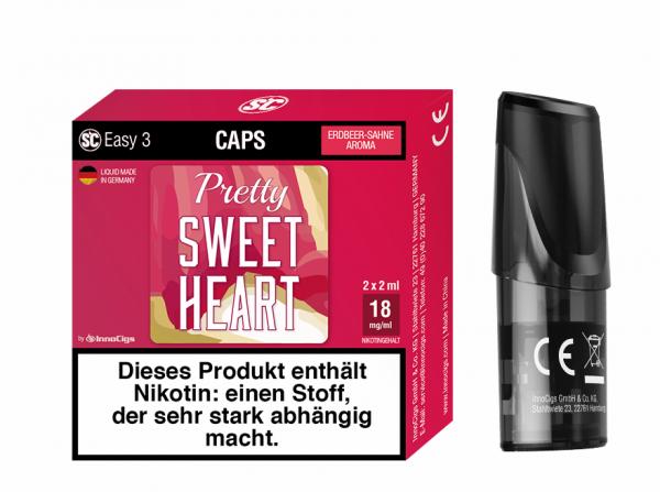 Innocigs - Easy 3 Caps Pretty Sweetheart ( 2er pack )