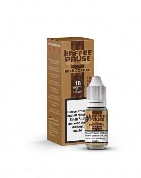 Steamshots - Kaffeepause Milk Coffee 10ml Nikotinsalz Liquid