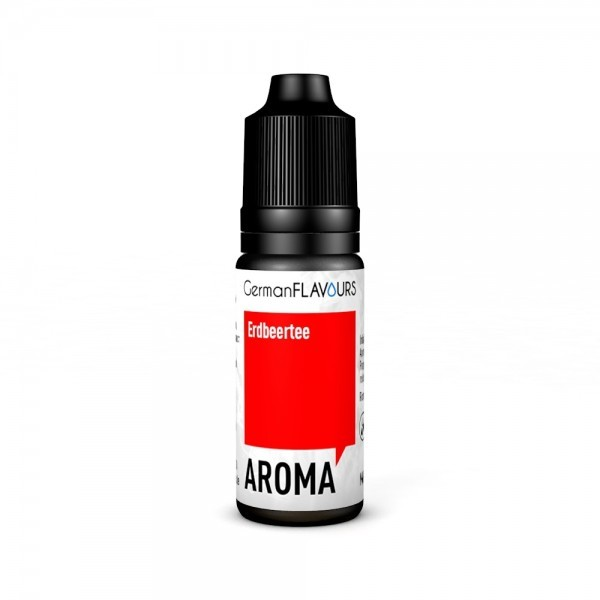 GermanFlavours - Erdbeertee 10ml Aroma