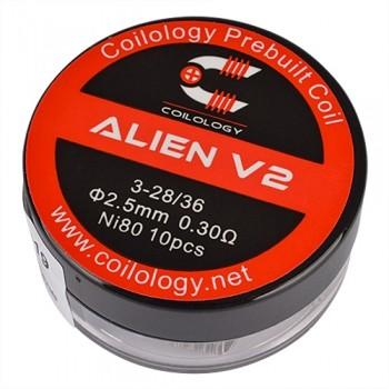 Coilology - Alien V2 0,3 Ohm Nichrome (10Stk./VE)