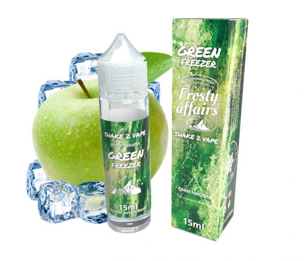 Frosty Affairs - Green Freezer 15ml Aroma Longfill