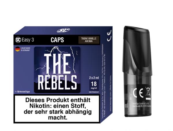 InnoCigs - Easy 3 Caps The Rebells ( 2er Pack )