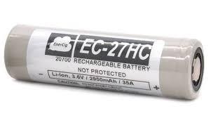Enercig EC-27HC 3,6V 2950 mAh / 35A 20700