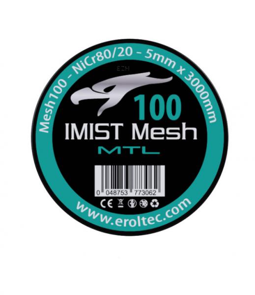 Imist - 3 Meter NiCr80 MTL Mesh Wire #100
