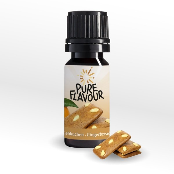 Pure Flavours - Lebkuchen 10ml Aroma (MHD 11/19)