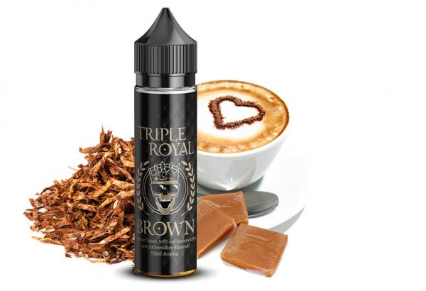 Triple Royal - Brown 10ml Aroma