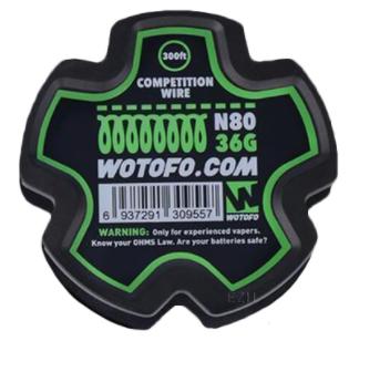 Wotofo - Ni80 Completition Wire 36GA 91m WW5