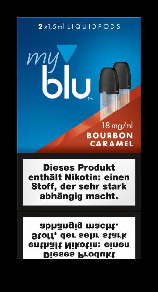 Liquidpods für MyBlu - Bourbon Caramel