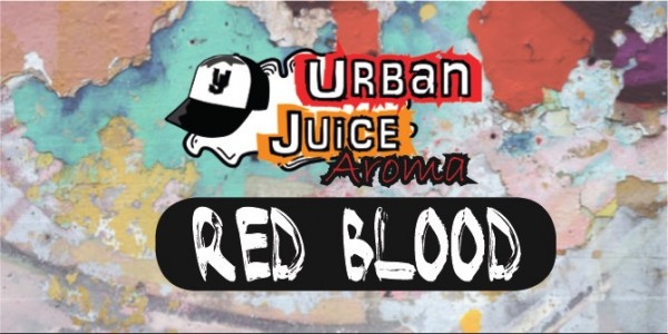 Urban Juice - Red Blood - 10ml Aroma