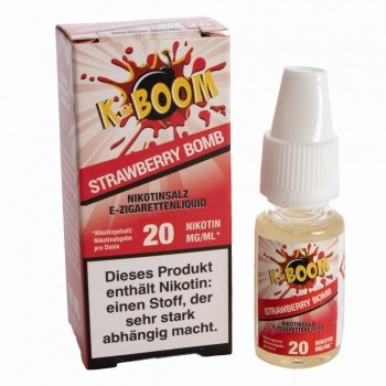 K-Boom - Strawberry Bomb 10ml 20mg Nikotinsalzliquid
