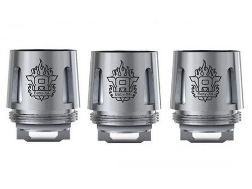Smok - TFV 8 X-Baby X4 Quadruple Head (3er Pack)
