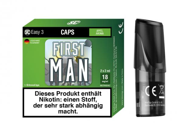 InnoCigs - Easy 3 Caps First Man ( 2er Pack )