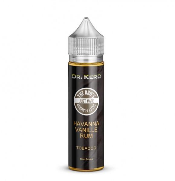 The Bro's X Dr. Kero - Havanna Vanille Rum Tobacco 10ml Aroma Longfill