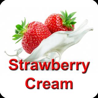 Dark Burner - Premium - Strawberry Cream 10ml Aroma