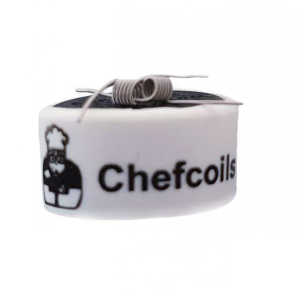 Chefcoils - Prebuilt MTL Ni80 Coil