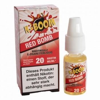 K-Boom - Red Bomb 10ml 20mg Nikotinsalzliquid