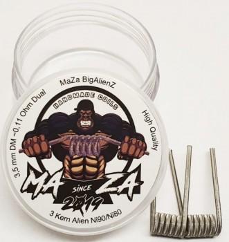 Maza Handmade Coils - Alienz ca 0.18 Ohm Dual