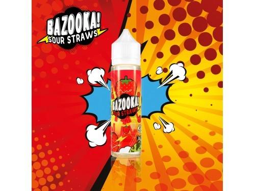 Bazooka Sour Straws - Strawberry 50ml (DIY Flavour-Konzentrat)