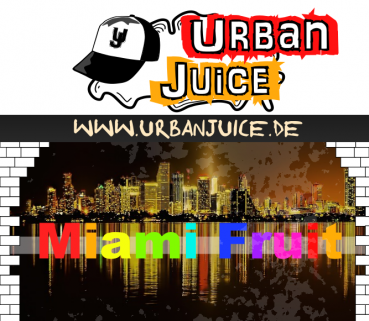 Urban Juice - Miami Fruit 10ml Liquid