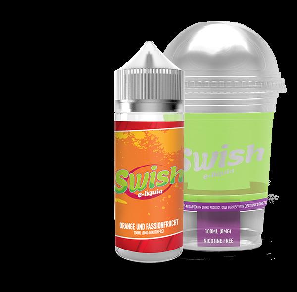 Swish E-Liquid - Orange und Passionsfrucht 100ml (DIY Flavour-Konzentrat)