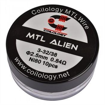 Coilology - MTL Alien 0,84Ohm NI80 (10Stk./VE)