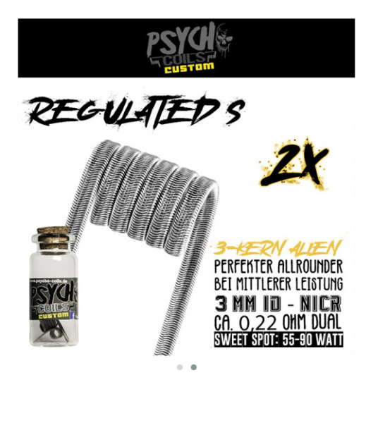 Psycho Coils - Regulated S Alien 0,44ohm