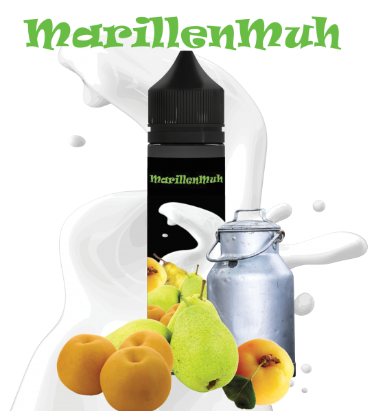Classic Dampf - Marillen Muh 12ml Aroma Longfill