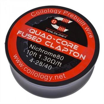 Coilology - Quad-Core Fused Clapton Nichrome Spule (10ft)