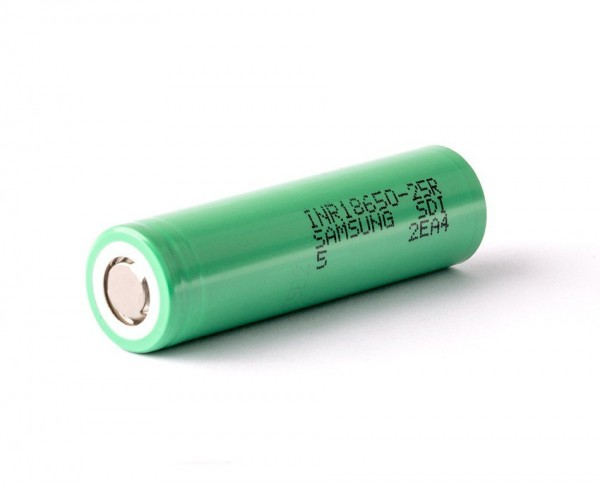 Samsung 18650INR 25R 2500 mAh unprotected