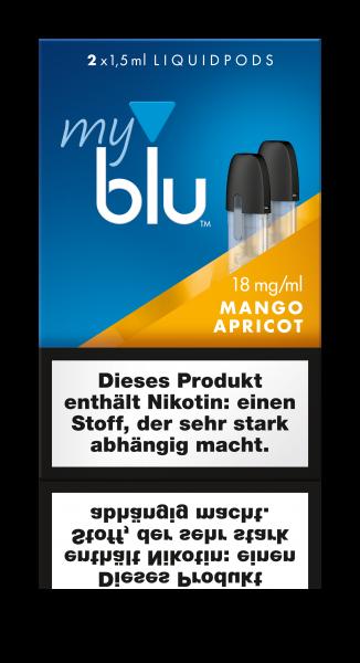 Liquidpods für MyBlu - MangoApricot