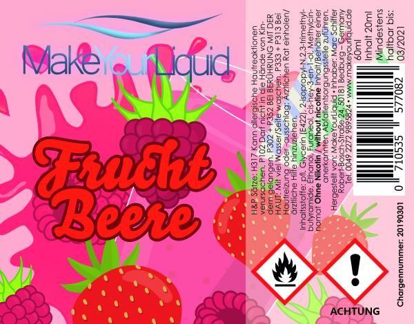 MakeYourLiquid - Frucht Beere 20ml Aroma