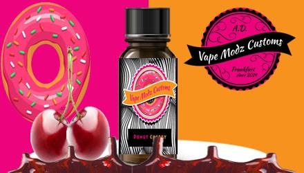 Vape Modz Customs - Donut Cherry 10ml Aroma MHD (10/18)