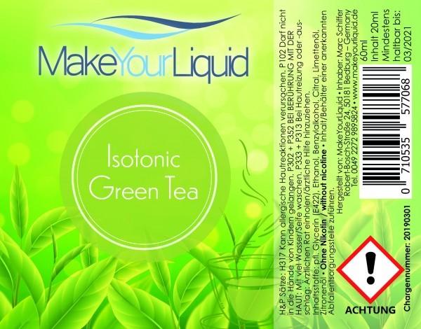 MakeYourLiquid - Isotonic Green Tea 20ml Aroma
