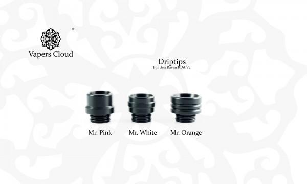 Vapers Cloud - Raven V2 Drip Tip - Mr. White