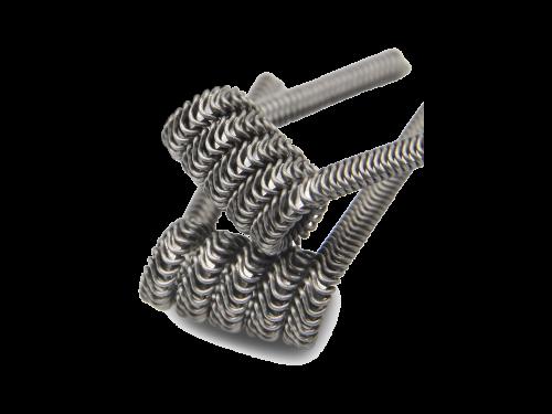 ThunderHead Creations - 0,25 Ohm Ni80 3-Fused Clapton Coil (2 Stück)