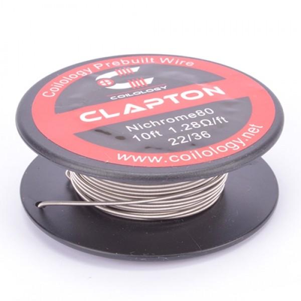 Coilology - Clapton Nichrome Spule (10ft) 22/36