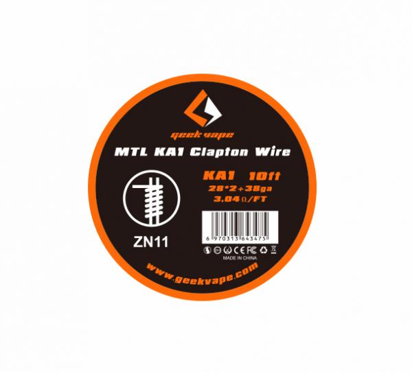 Geekvape - MTL Kanthal A1 Clapton Draht 3m 28GA*2+38GA ZN11