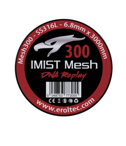 Imist - 3 Meter SS316L Mesh Wire #300