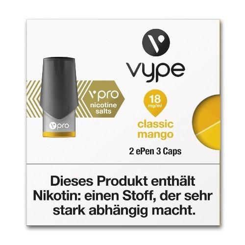 Vype - ePen3 Caps vPro Classic Mango