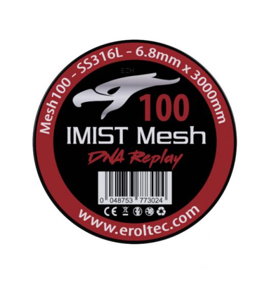 Imist - 3 Meter SS316L Mesh Wire #100