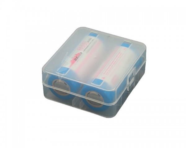 Akkubox 2x26650 oder 4x 18650