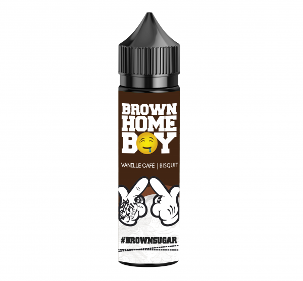 GANGGANG - Brown Homeboy #brownsugar 20ml Aroma Longfill