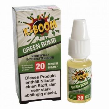K-Boom - Green Bomb 10ml 20mg Nikotinsalzliquid