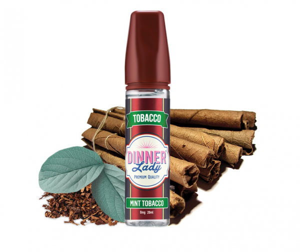 Dinner Lady - Tobacco - Mint Tobacco 20ml Aroma Longfill