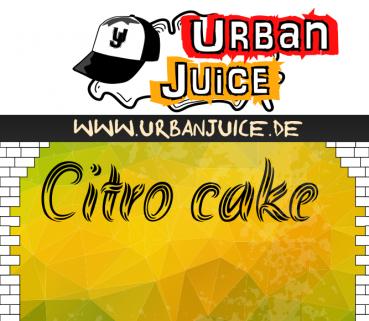 Urban Juice - Citro Cake - 10ml Aroma