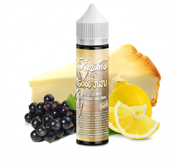Kapka´s Flava - Sucralosefrei - Good Juju 15ml Aroma