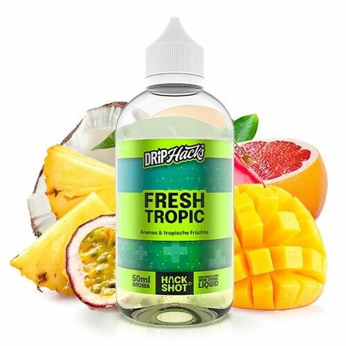 Drip Hacks - Fresh Tropic - 50ml Aroma Longfill