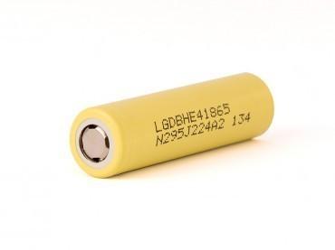 LG ICR18650 HE4 2500mAh 20A unprotected